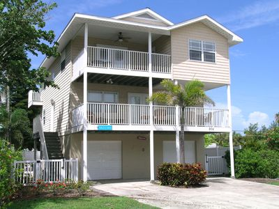 Photo for Luxury 4 bedroom, 3 bath private home with a heated pool in the heart of Anna Maria.