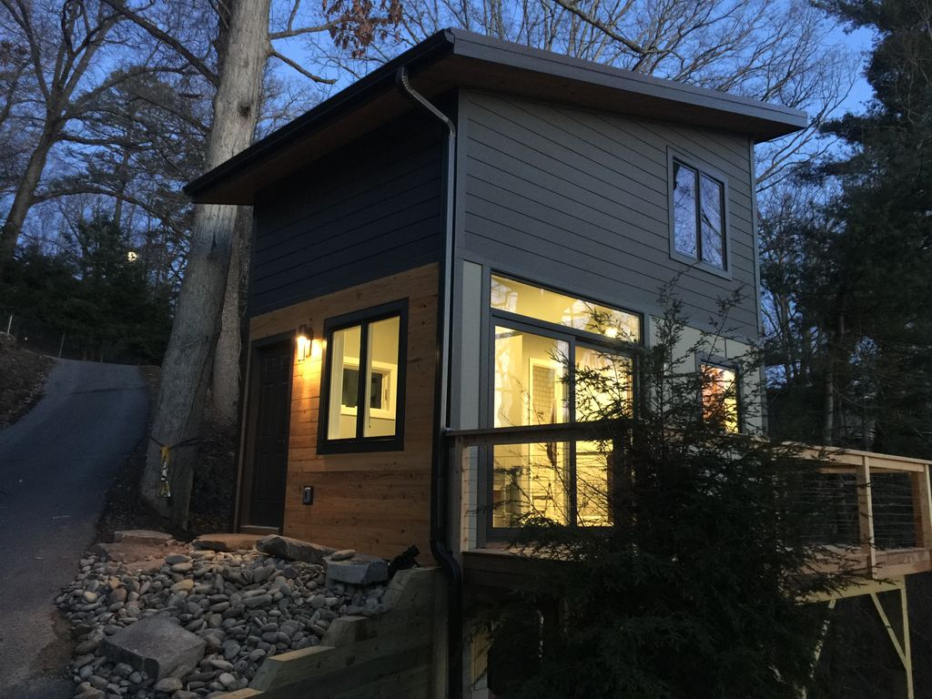 Winter Sale Tiny House Big Views 8 Min To Downtown Grove Park
