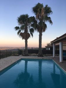 Photo for 3 Bed Detached Villa in Polemi, Paphos. Private Heated Pool & Mountain Views