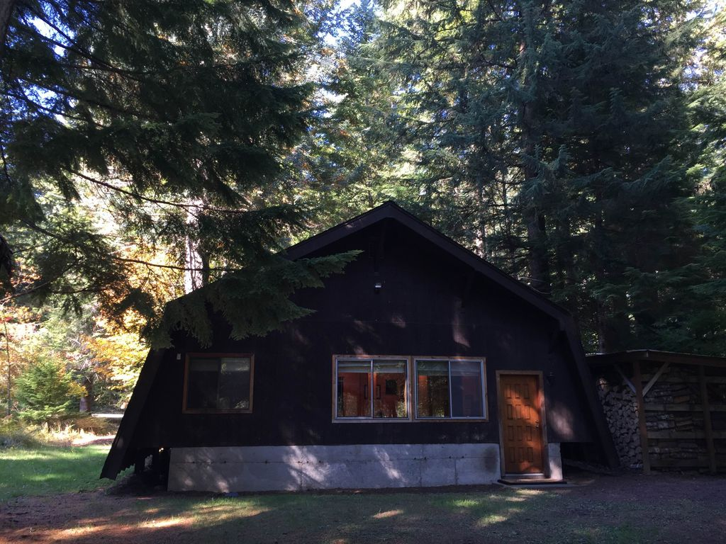 Property Image#16 Secluded Mt. Rainier Cabin   Wifi   Wood Stove   Firepit