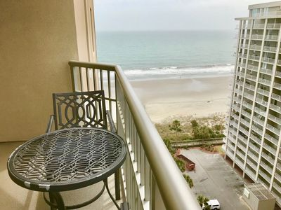 Photo for ** New Listing:   1 bedroom on 14th floor in Royale Palms, behind Ocean Front
