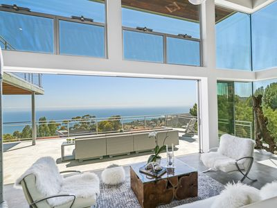 Photo for Malibu Glass House - Ocean View Retreat - Newly Constructed Summer Rental