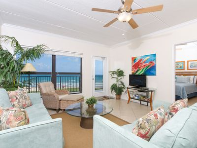 Photo for Saida II 602 -  Cozy Oceanfront Condo, Panoramic Ocean Views, Great Get-a-way for Couple or Small Family