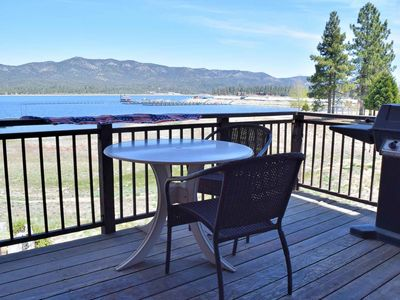 Photo for Edgewater Retreat: Lakefront! Hot Tub! Multiple Decks! BBQ! Cable TV! Internet! Walk to The Village!