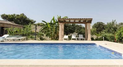 Photo for Private Beautifull Finca with Pool wifi.3 bedrooms 2 bathrooms. Terrace.parking.