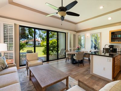 Photo for Newly remodeled, ideally located 1 bdrm ground floor in Kiahuna Plantation