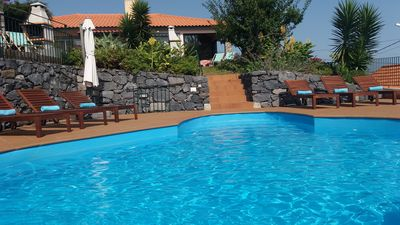 Photo for Banda do Sol Luxury Cottages - spectacular view, swimming pool & private terrace