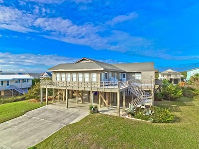 Photo for A HOME ON THREE LOTS WITH PRIVATE OCEAN & BEACH ACCESS! Handicapp Accessible.