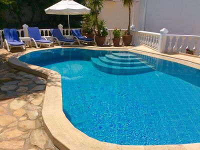 Photo for Luxury 4 Bedroom Villa, Private Pool, Sea Views, 2 Mins Walk to Old Kalkan Town