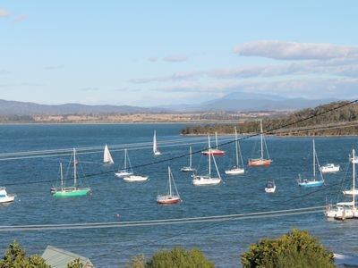 Photo for federation style  fishermans cottage overlooking the bay and marina