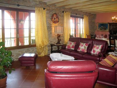 Photo for 5 bedroom Villa, sleeps 10 in Lappato with Pool, Air Con and WiFi