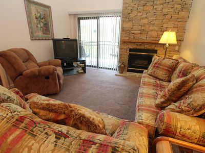 Photo for three bedroom condo with loft, sleeps 10