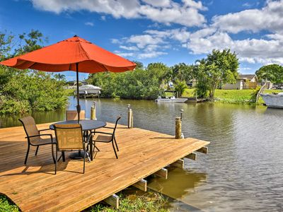 Photo for Waterfront Port St Lucie House w/ Patio & Dock!