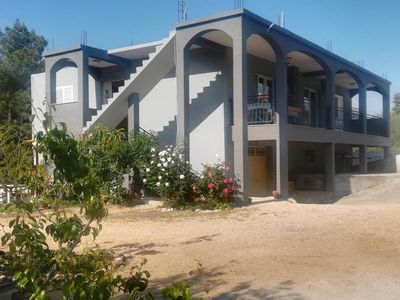 Photo for Four bedroom apartment with terrace Bibinje, Zadar (A-17346-a)
