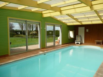 Photo for BAY ST BRIEUC, Great PROPERTY indoor heated POOL.