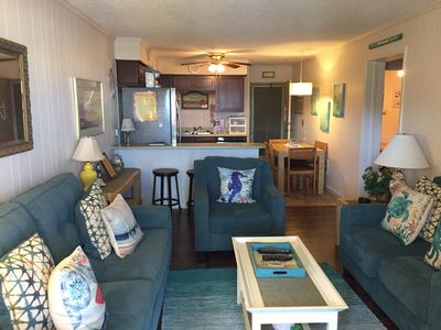 Photo for A Place At The Beach,  2BR OV, across street from ocean
