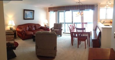 Photo for Eagles Court Slopeside Condo, Wifi, Walk to everything!