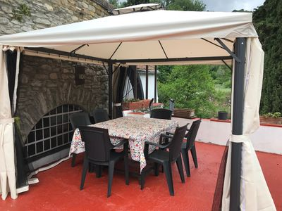 Photo for Idyllically situated ancient mill on the river, pool, garden, breakfast, 5km to the sea