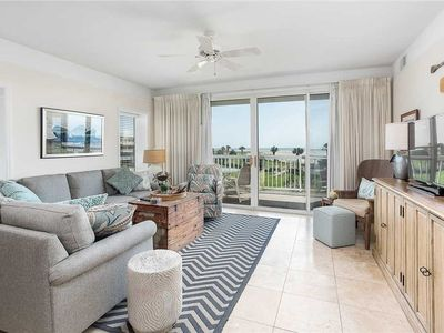 Photo for Oceanfront Condominium, Plenty of Room for Large Families! Ocean View Pool  Access
