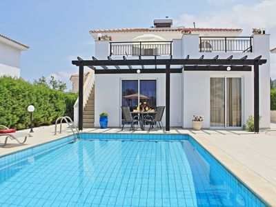 Photo for Villa Amarylis is a three bedroom villa with private secluded pool and garden, located in Argaka