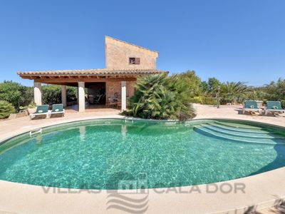 Photo for 3 bedroom Villa, sleeps 8 in es Llombards with Air Con and WiFi