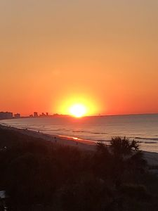 Photo for Breathtaking Sunrise and Sunset View from a 28' Balcony Oceanfront Getaway