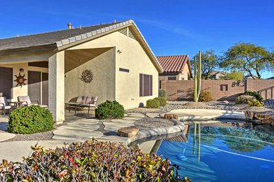 Book this Cave Creek vacation rental home for a relaxing Arizona retreat!