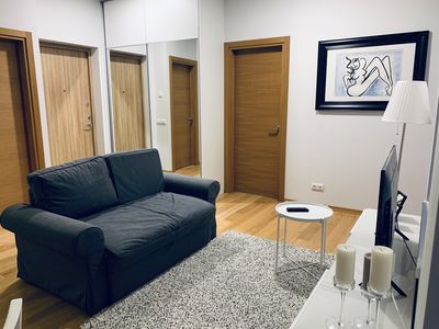 Photo for Bright one bedroom apartment in old town