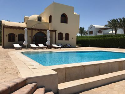 Photo for VILLA ALETHEIA Private POOL in the green of North Golf