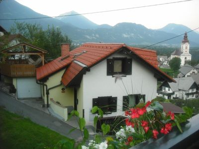 Photo for Detached Alpine Cottage With View Of mountains and Bled Castle