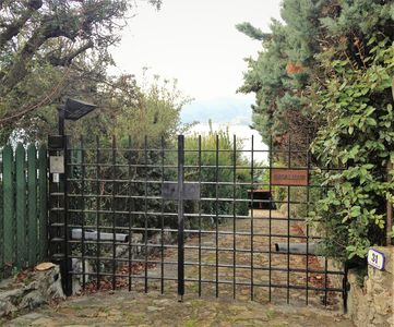 Photo for Beautiful villa surrounded by greenery in front of the Argentario Gulf