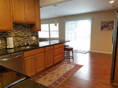 Spacious Kitchen with access to large deck