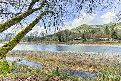 The Rogue River is right outside your door.