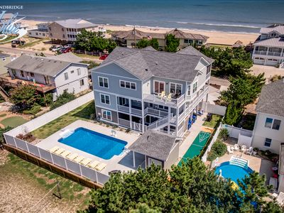 Photo for Ruff Life | 320 ft from the beach | Dog Friendly, Private Pool, Hot Tub