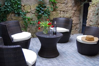 Private courtyard just for you