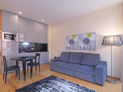 Photo for Sao Bento III apartment in Sé with WiFi & balcony.