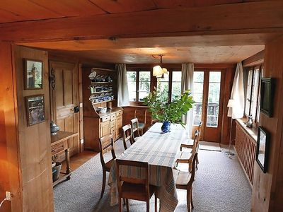Photo for 6 bedroom Apartment, sleeps 9 in Gstaad