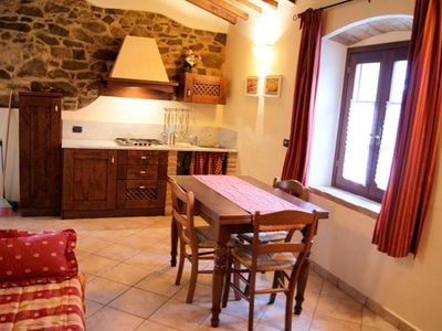 Photo for 2BR Apartment Vacation Rental in Chianni, Toscana