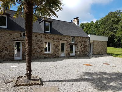 """Photo for Furnished cottage for 6 people in the village of """"Silence ça pousse"""""""