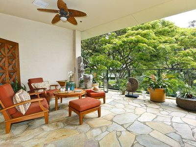 Photo for TRULY One-of-a-Kind!  Spacious 2 bed/2.5 bath Condo with Huge Lanai, Parking!