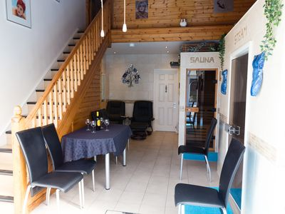 Photo for Luxurious 3 double bed property, all ensuite, plus sauna, steam room, hot tub
