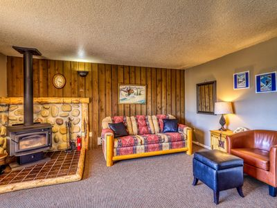 Photo for Ski-in/out condo w/ lift access, shared sauna & hot tub - Boise 20 miles away!