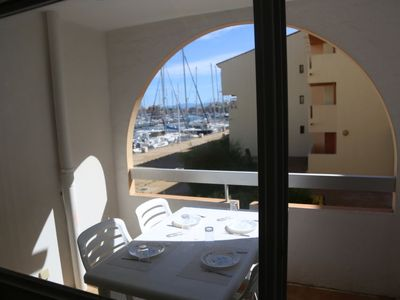 Photo for Apartment TERRASSE MEDITERRANEE 1 in Port Leucate - 4 persons, 1 bedrooms