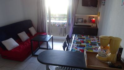 Photo for 2 rooms in secure residence. 5 minutes from the sea. All on foot.