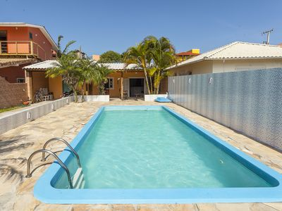 Photo for Beautiful house with pool only 50 mts from the beach