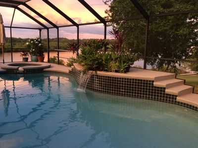 Gorgeous Waterfront 3500 SF Pool Home, 2.5 acres on the Little Manatee River