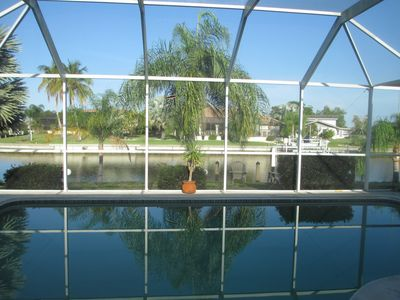 Photo for Peaceful, canal home in desirable Punta Gorda Isles. Walk to Fishermen's Village