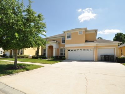 Photo for Near Disney World - Emerald Island Resort - Amazing Contemporary 6 Beds 5 Baths  Pool Villa - 3 Miles To Disney