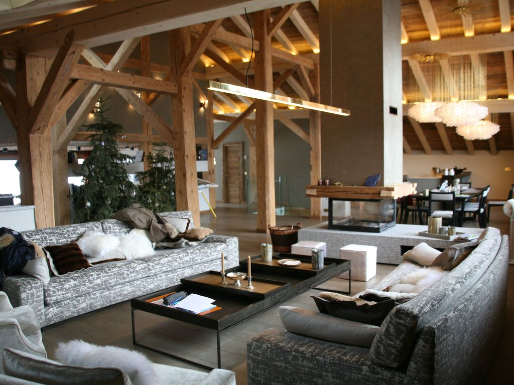 Exceptional Classified Farm 18th Century Ski Chalet In