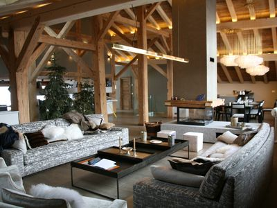 Photo for Exceptional Classified Farm - 18th century ski chalet in Megève